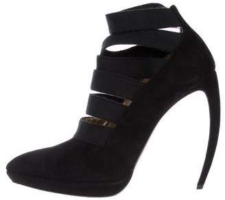 Walter Steiger Multistrap Pointed-Toe Booties