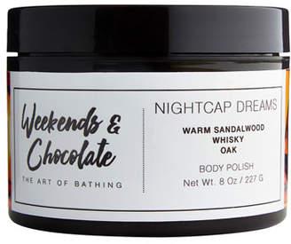 Weekends and Chocolate Body Scrub - Nightcap Dreams, 8.0 oz./ 227 mL