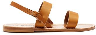 K. Jacques Barigoule leather sandals