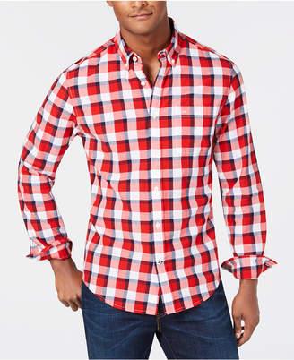 Tommy Hilfiger Men's Classic Fit Pat Plaid Shirt