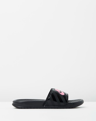 Nike Benassi Just Do It Slides - Women's