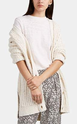 ATM Anthony Thomas Melillo Women's Chunky Bouclé Long Cardigan - Light Beige