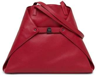 Akris 'Ai Medium Shoulder Tote' Leather Shoulder Tote