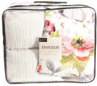 6pc 300tc Florabelle Comforter Set