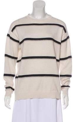 Brunello Cucinelli Embellished Cashmere Top