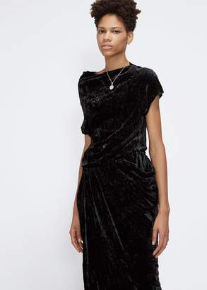 MS MIN Sleeveless Asymmetrical Dress