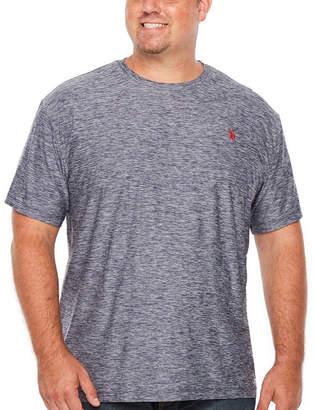 U.S. Polo Assn. Short Sleeve Crew Neck T-Shirt-Big and Tall