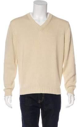 Malo Crew Neck Pullover Sweatshirt