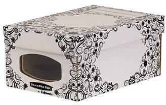 Fellowes Bankers Box Style 4 Pack Wardrobe/Shoe Box - Black