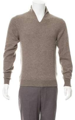 Maison Margiela Wool Shawl Collar Sweater