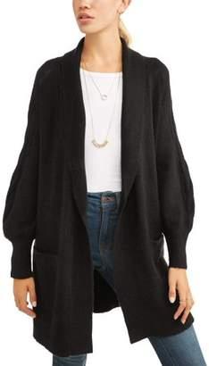 N. Heart Crush Women's Cozy Soft Cardigan