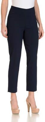Larry Levine Slim Ankle Pant - Plus