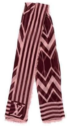 Louis Vuitton Cashmere Silk Karakoram Stole