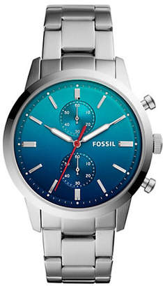 Fossil Townsman Chronograph Stainless Steel Watch