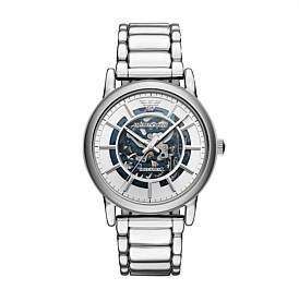 Emporio Armani Men'S Silver-Tone Watch
