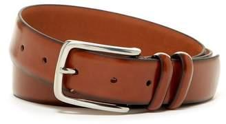 Boconi Fens Double Loop Leather Dress Belt