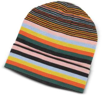 Missoni Striped Wool Blend Men's Hat