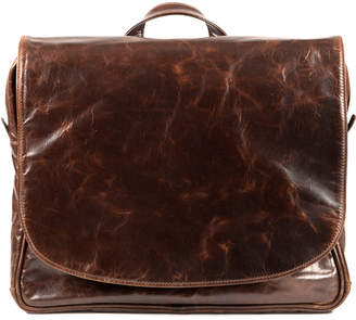 "Moore & Giles Fine Leather Messenger Bag ""Wynn"""