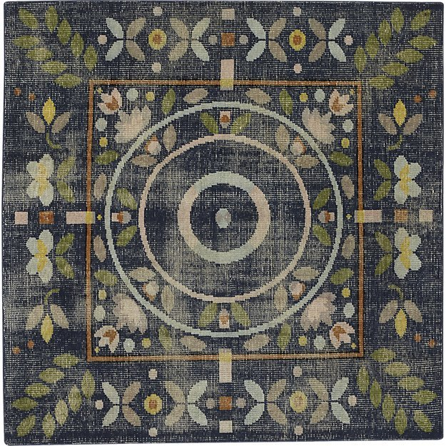 CB2Petal Hand-Knotted Rug 6'