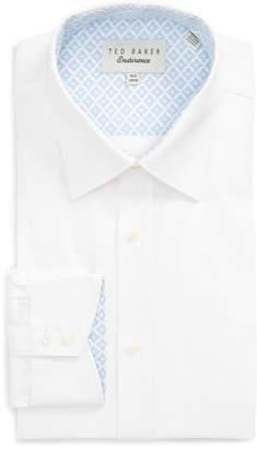Ted Baker Trim Fit Solid Dress Shirt