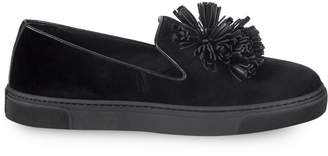 Louis Leeman Tasseled Slip-On Sneakers