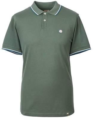 Pretty Green Tipped Pique Polo Shirt