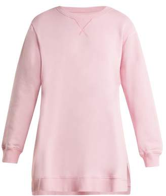 MM6 MAISON MARGIELA Oversized Cotton Sweatshirt - Womens - Pink