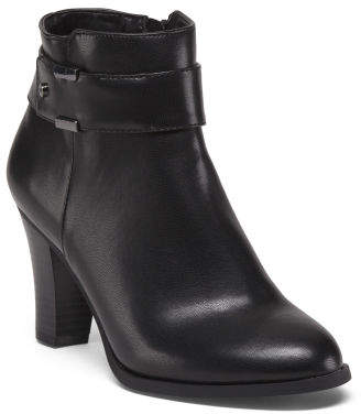 High Heel Ankle Booties