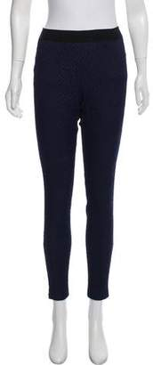Rebecca Taylor Textured Pull-On Pants