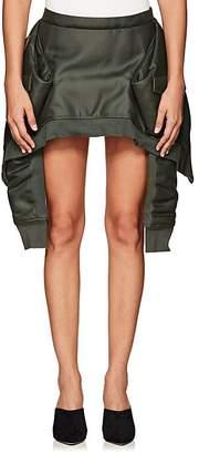 Helmut Lang Women's Bomber-Jacket Miniskirt