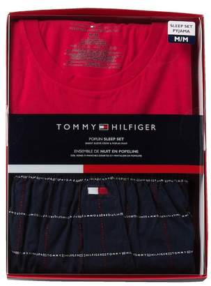 Tommy Hilfiger Poplin Sleep Set