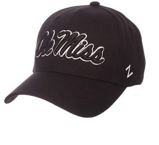 Zephyr Ole Miss Rebels Black & White Competitor Cap
