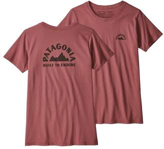 Patagonia Women's Geologers Organic Cotton Crew T-Shirt