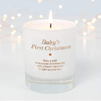 Make a Wish Candle Company Make A Wish For A Baby's First Christmas Candle