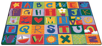 Carpets for Kids Toddler Alphabet Blocks Area Rug Rug $127.99 thestylecure.com