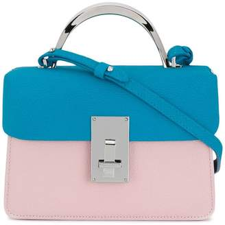 The Volon colour block mini satchel bag