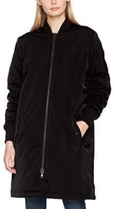 Second Female Women's Mallory Bomber Coat (Black 8001), (Size: L)