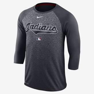 Nike AC Legend Raglan (MLB Indians) Men's 3/4 Sleeve Top