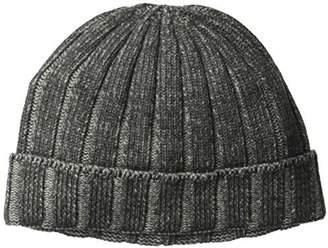 Sofia Cashmere Men's Cuffed Up Rib Hat