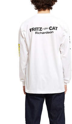 Richardson Fritz The Cat Smoked Out Long-sleeve