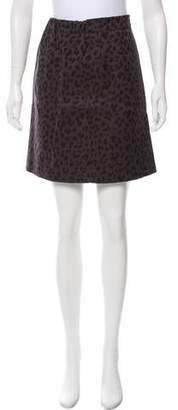 TOMORROWLAND Printed Mini Skirt