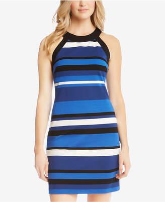 Karen Kane Striped Halter Dress
