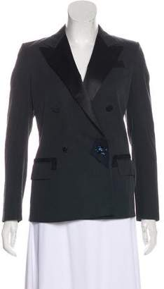 Lanvin Structured Double-Breasted Blazer