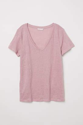 H&M Linen Top - Pink