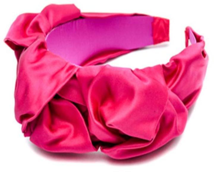 Jennifer Behr Sculpted Headband Azalea