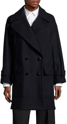 Aquilano Rimondi Women's Double-Breasted Wool Blend Jacket