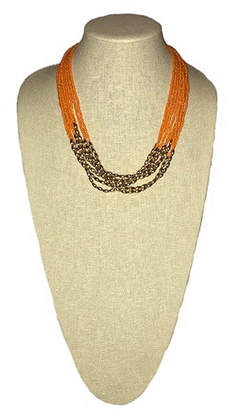 MIXIT Mixit Womens Strand Necklace