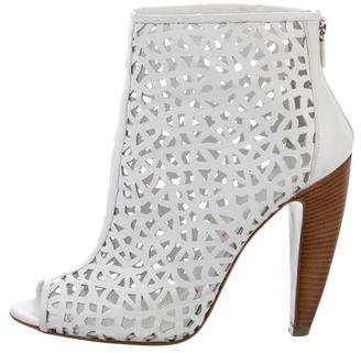 Walter Steiger Leather Laser Cut Booties