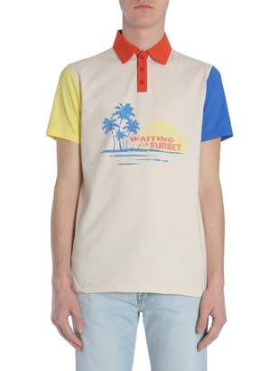 Saint Laurent Cotton Polo Shirt