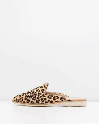 Rollie/Sidecut Leopard Camel Slides